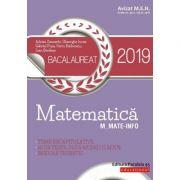 Matematică. Bacalaureat 2019. M_Mate-Info