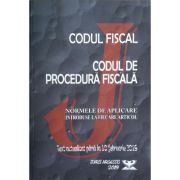 Codul fiscal, Codul de procedura fiscala, Normele de aplicare, introduse la fiecare articol