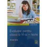 Evaluare pentru clasa a VI-a – teste. Limbă și comunicare. Limba engleză - Booklet