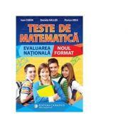 Teste de matematica. Evaluarea nationala. Noul format
