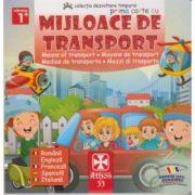 Prima carte cu mijloace de transport