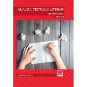 Analiza textului literar- Aplicatii