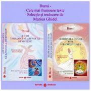 Rumi Cele mai frumoase texte. Selectie si traducere de Marius Ghidel. Pachet doua carti