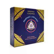 Meditații și Afirmații - set carduri - Deepak Chopra