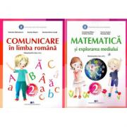 Set Manuale - Comunicare in limba romana si Matematica si explorarea mediului pentru clasa a II-a - Constanta Balan, Gabriela Barbulescu