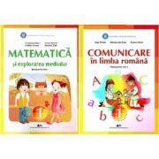 Set Manuale - Comunicare in limba romana si Matematica si explorarea mediului pentru clasa I - Constanta Balan si Olga Piriala