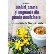 Uleiuri, creme si unguente din plante medicinale