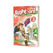 Right on! 3 Teachers Book. Manualul profesorului, Level Pre-Intermediate (B1) - Jenny  Dooley