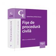Fise de procedura civila. Editia a 2-a, 2021