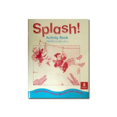 Caiet de engleza cls III. Splash