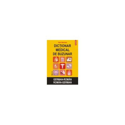 Dictionar medical de buzunar german-roman/roman-german