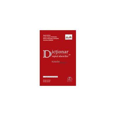 Dicţionar de dreptul afacerilor român-englez