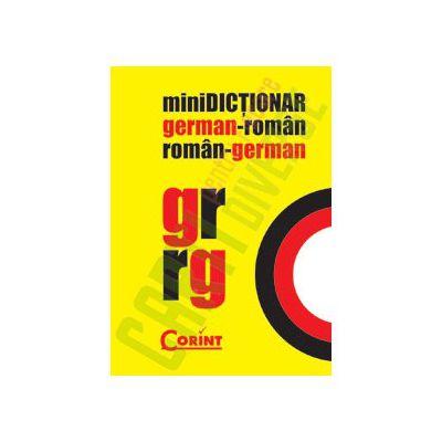 miniDICTIONAR GERMAN-ROMAN, ROMAN-GERMAN