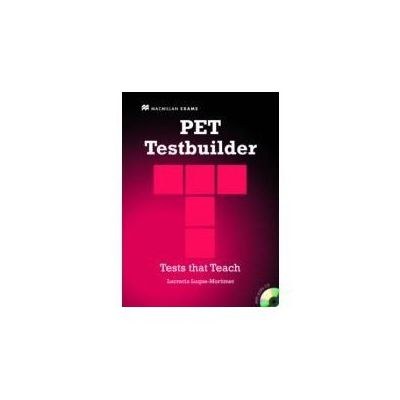 PET Testbuilder with key