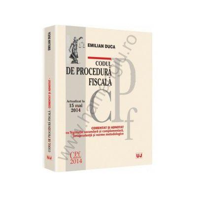 Codul de procedura fiscala - comentat si adnotat