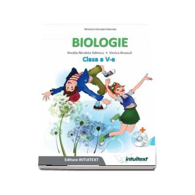 Biologie, manual pentru clasa a V-a - Rozalia-Nicoleta Statescu (Contine editia digitala) de Statescu, Rozalia-Nicoleta