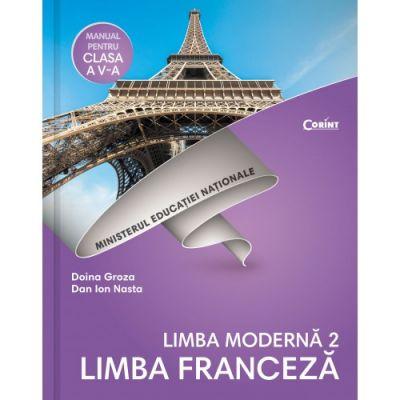 Limba franceză L2 - Manual pentru clasa a V-a