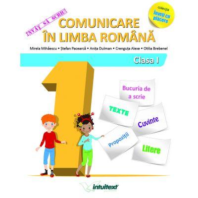 Învăț să scriu! Comunicare în limba română