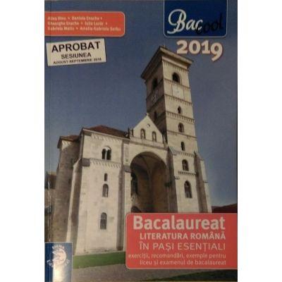 Literatura romana in pasi esentiali, bacalaureat 2019 - Sigma