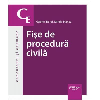 Fise de procedura civila - Gabriel Boroi