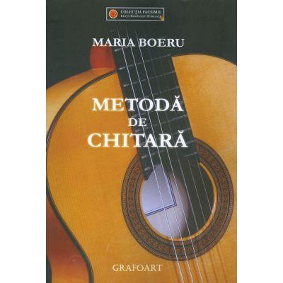 Metoda de chitara - Maria Boeru