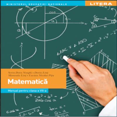 Matematica. Manual pentru clasa a VII-a - Litera