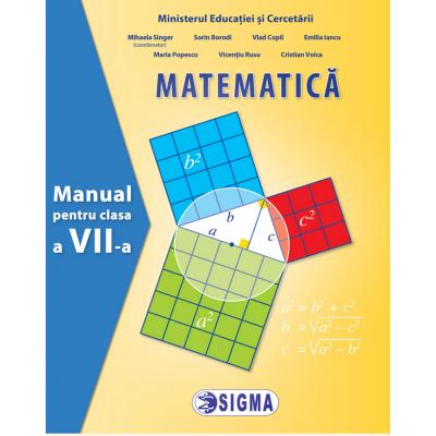 Matematica. Manual pentru clasa a VII-a - Sigma