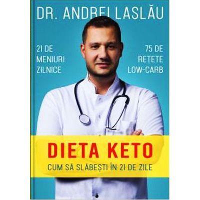 Dieta Keto. Cum sa slabesti in 21 de zile - dr. Andrei Laslău