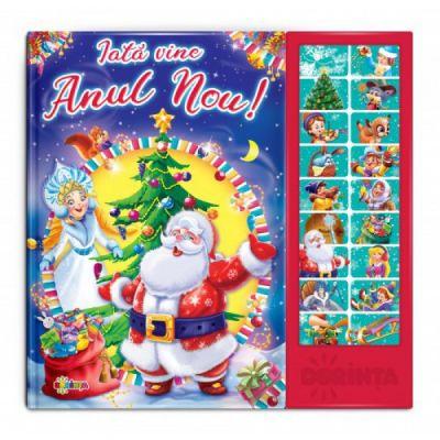 Carte cu sunete - Iată vine Anul-Nou!