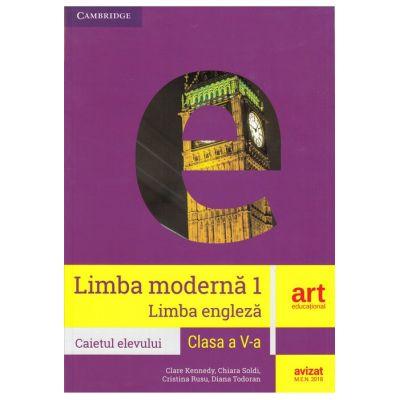 LIMBA ENGLEZĂ (L1). Clasa a V-a. Caietul elevului (Workbook)