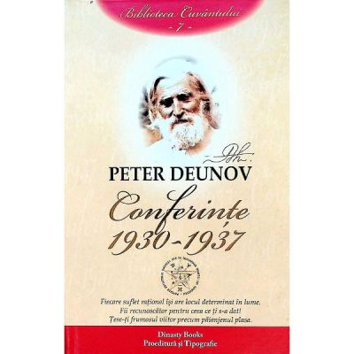 Conferinte: 1930-1937 Vol.7 - Peter Deunov