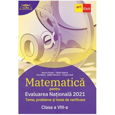 Evaluarea națională 2021. MATEMATICĂ. Clasa a VIII-a