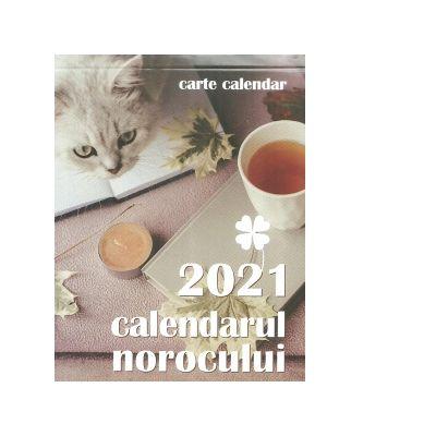 Carte calendarul norocului 365 de file, 2021