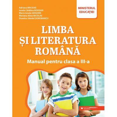Limba și literatura română. Manual pentru clasa a III-a