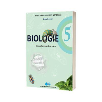 Biologie manual pentru clasa a V-a - Crocnan, Elena