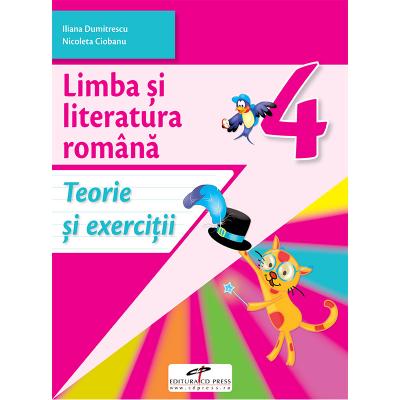 Limba si literatura romana. Caiet de activitati. Clasa a IV-a - Iliana Dumitrescu, Nicoleta Ciobanu, Vasile Molan