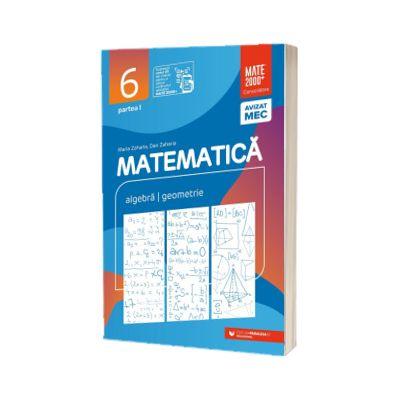 Matematica, consolidare. Culegere pentru clasa a VI-a, partea I (2021-2022)