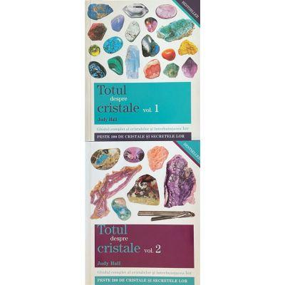 Pachet 2 Volume Totul despre cristale - Ghidul complet al cristalelor şi întrebuinţarea lor (Vol 1+2) - Judy Hall